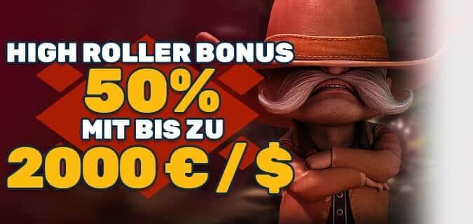 High-Roller-Bonus
