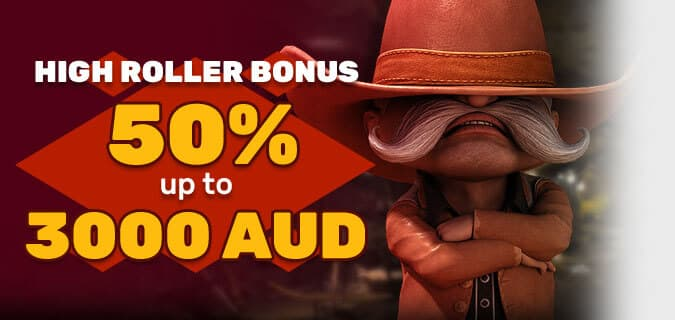 High Roller Bonus Offer